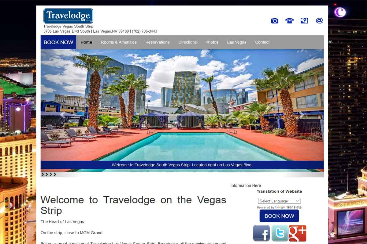 Located On The Las Vegas Strip Hotels Managed By Westmont Hospitality